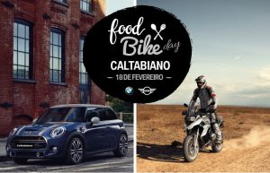 Food Bike Day Caltabiano: Neste sábado | BMW Motorrad e MINI. Confira