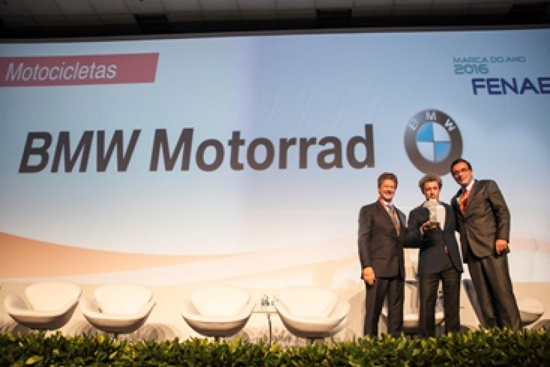 BMW Motorrad Brasil foi eleita a marca do ano na categoria Motos pela Fenabrave