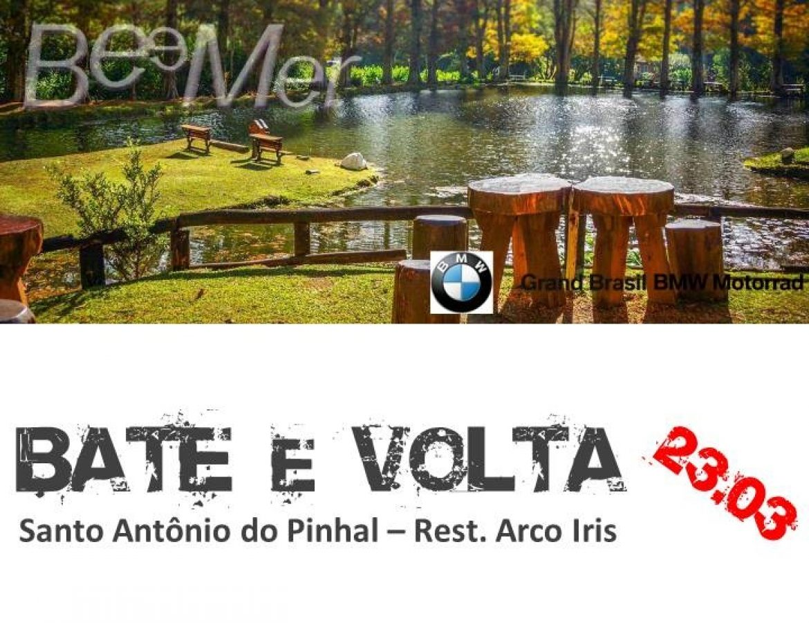 Bate&Volta – Sto Antonio do Pinhal – 23/03