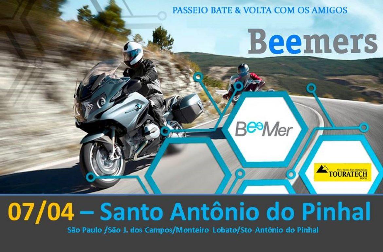 Santo Antonio do Pinhal – 07/04 – Bate&Volta