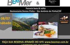 BeeMer convida você para um passeio até Sto Antonio do Pinhal