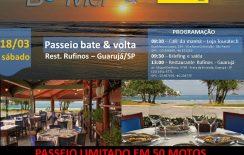 BeeMer e Touratech convidam você para um Bate&Volta – Bertioga/Guarujá