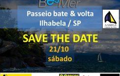 Bate & Volta para Ilhabela – SAVE THE DATE