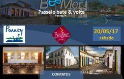 Passeio BeeMer Bate&Volta – Paraty/RJ – 20/05/17