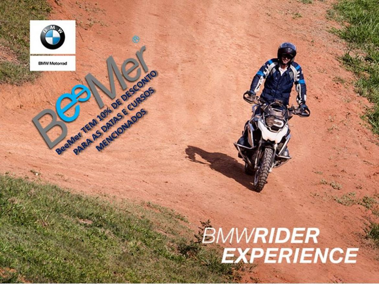 BeeMer tem 10% de desc. no BMW Rider Experience