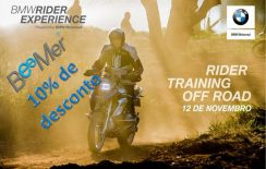 BMW Rider Training Off Road – última data de 2017