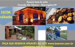 PASSEIO BeeMer – Bate & Volta – Faz. São Silvano/Morugaba/SP