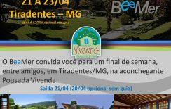 Bate&Fica – Tiradentes/MG – 21 a 23/04