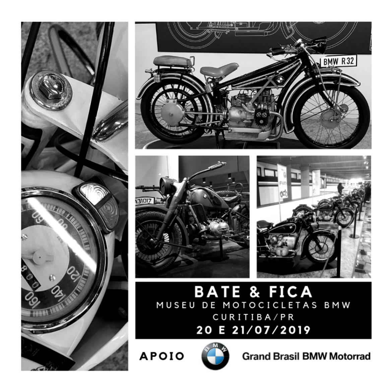 Museu de Motocicletas BMW – Curitiba/PR – 20 e 21/07