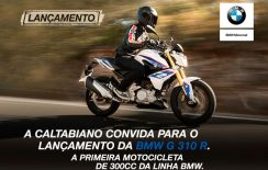 LANÇAMENTO: BMW G 310 R na Caltabiano