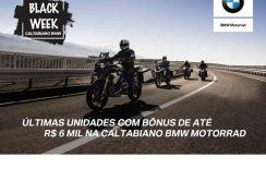BLACK WEEK BMW Motorrad com bônus especial na Caltabiano | Faça um test ride
