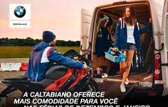 Nas férias:  Serviço leva e traz na Caltabiano BMW Motorrad