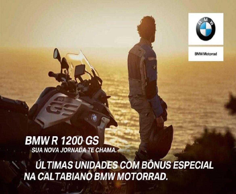 ÚLTIMAS UNIDADES BMW R 1200 GS com BÔNUS na Caltabiano