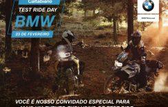 TEST RIDE DAY na Caltabiano BMW Motorrad – AGENDE SEU HORÁRIO