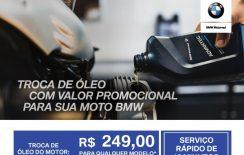 Na Grand Brasil você troca o óleo da sua moto com valor promocional!!!