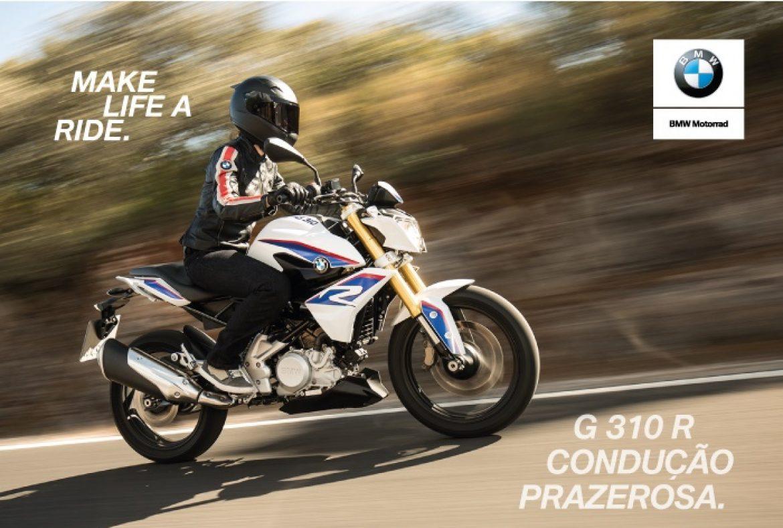 Compre a nova BMW G 310 R na Grand Brasil e ganhe uma jaqueta