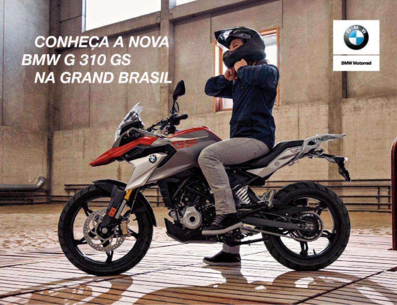 Conheça a nova BMW G 310 GS na Grand Brasil e faça um test ride!