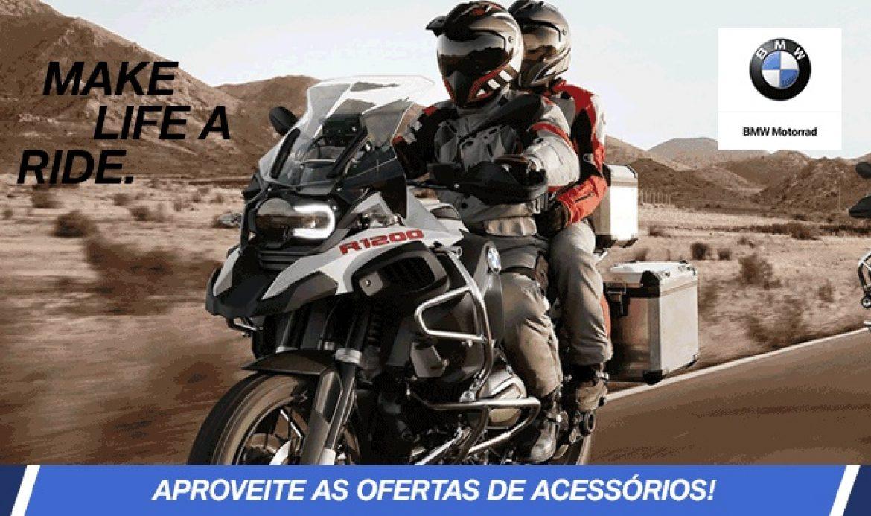 Promoção de Acessórios BMW na Star News